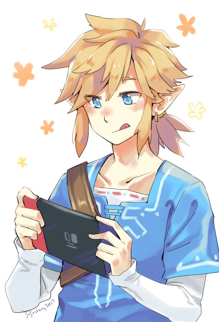 The-Legend-of-Zelda-Breath-of-the-Wild-Link-with-a-Nintendo-Switch-wallpaper-wp4409871.jpg